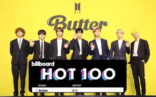 Butter thế chỗ Permission To Dance để giữ vững no.1, tạo luôn thành tích mới tại Billboard