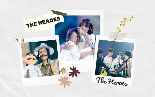 Loạt sân khấu cảm động về tình gia đình tại The Heroes 'chống chỉ định' cho hội mau nước mắt