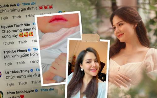 Nữ diễn viên 'Yêu thì ghét thôi' Phanh Lee hạ sinh con gái đầu lòng