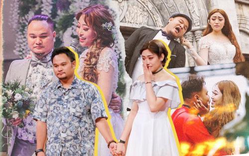 Những khoảnh khắc hạnh phúc của Vinh Râu - Lương Minh Trang trước khi 'đường ai nấy đi'