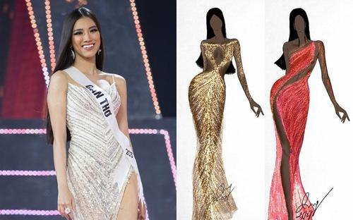 Fan ráo riết 'hiến kế' vô số kiểu dáng váy dạ hội cho Kim Duyên tại Miss Universe 2021