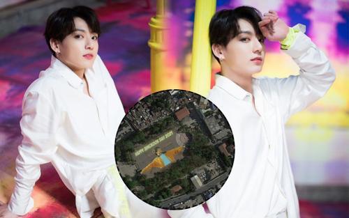 Jungkook (BTS) trở thành nghệ sĩ đầu tiên trên thế giới nhận quà sinh nhật 'khủng' cỡ này