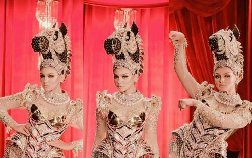 Choáng ngợp với national costume của Indonesia tại Miss Supranational 2021, quá sức hoành tráng