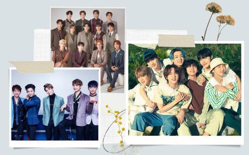 Chỉ có 5 nhóm nhạc K-Pop vẫn giữ đúng số lượng thành viên sau tái ký hợp đồng