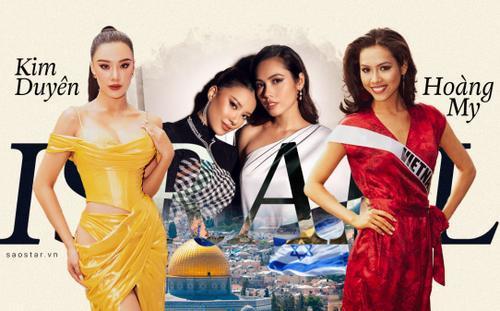Kim Duyên: 'Á hậu Hoàng My sẽ đồng hành với tôi trên hành trình đến với đất nước Israel xinh đẹp'