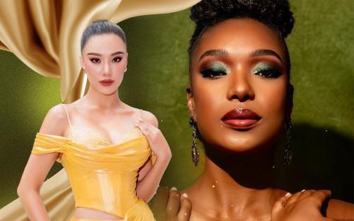 Vận động viên quần vợt sành sỏi 3 ngôn ngữ đại diện Aruba 'đe dọa' Kim Duyên tại Miss Universe