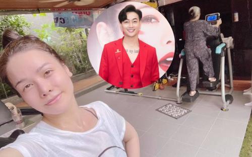 Nhật Kim Anh khoe ảnh ở nhà mùa dịch, dành lời thân mật cho 'người ấy' nhưng không phải TiTi?