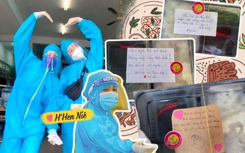 Hoa hậu H'Hen Niê chuẩn bị những hộp cơm đầy ắp tình cảm cho tuyến đầu chống dịch Covid-19