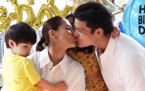 'Mỹ nhân đẹp nhất Philippines' ngọt ngào mừng sinh nhật chồng, nhan sắc đỉnh cao khiến fan trầm trồ