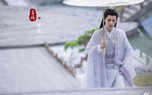 Tiêu Chiến đẹp thoát tục trong y phục trắng ở poster mới phim 'Ngọc cốt dao'