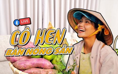 Hoa hậu H'Hen Niê livestream kết nối nông sản cho bà con nông dân