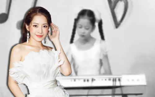 Tiết lộ khoảnh khắc thi đánh đàn nhiệt tình hồi bé, hoá ra Chi Pu đã có 'khiếu âm nhạc' từ nhỏ?