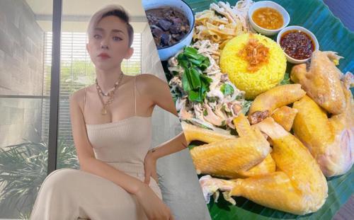Tóc Tiên khiến dân tình 'hết hồn' khi bày vẽ nấu cơm gà Hội An