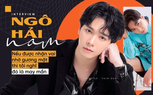 Diễn viên Hải Nam: 'Nếu được nhận vai nhờ gương mặt thì tôi nghĩ đó là may mắn'