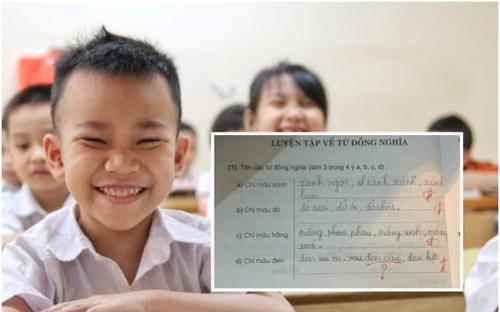 Viết tên Đen Vâu vào bài tập bị chấm sai, học sinh tiểu học khiến dân mạng cười ngất khi biết đề bài