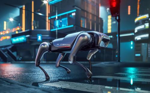 Chó CyberDog có thể chạy 11.5km/giờ, biết nhào lộn