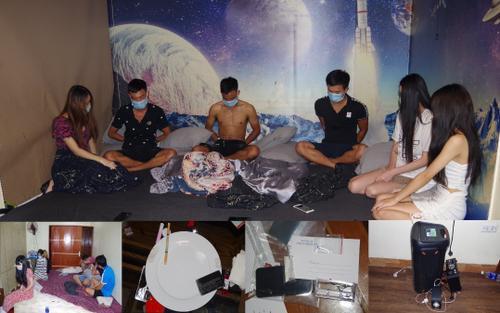 13 đôi nam nữ tụ tập thuê phòng nghỉ để 'bay lắc' bất chấp dịch bệnh ở Hà Nam