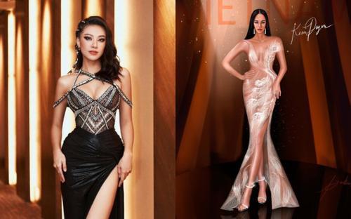Gợi ý đầm dạ hội cho Kim Duyên tới Miss Universe, tha hồ đãi mắt fan quốc tế