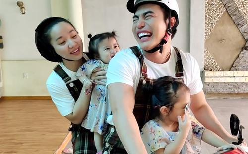 Lê Dương Bảo Lâm 'bất chấp' dịch bệnh lái xe chở cả gia đình đi sở thú
