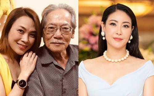 NSƯT Quốc Trụ - bố Hoa hậu Hà Kiều Anh qua đời, nhiều nghệ sĩ Việt xót xa chia buồn