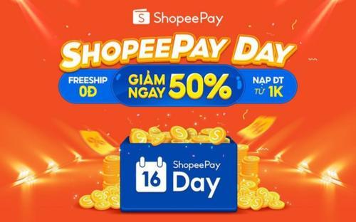ShopeePay Day 16.08 ghi điểm mạnh trong mắt Gen Z