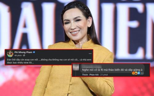 Rủ fan đếm view MV, Phi Nhung không quên đáp trả cực căng khi bị mỉa mai nghi vấn F0
