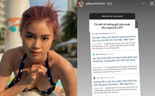 Được hỏi 'có nên gửi ảnh nude cho người yêu', rapper Pháo trả lời đầy thâm thúy