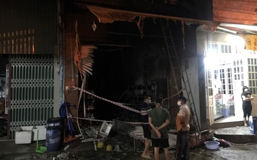 Bình Dương: Cháy lớn trong đêm khiến 5 người trong một gia đình tử vong