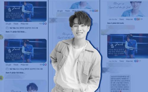 Thực hư fan Jack tràn vào làm loạn page chính thức của show Hàn Quốc chỉ vì cổ vũ thần tượng?