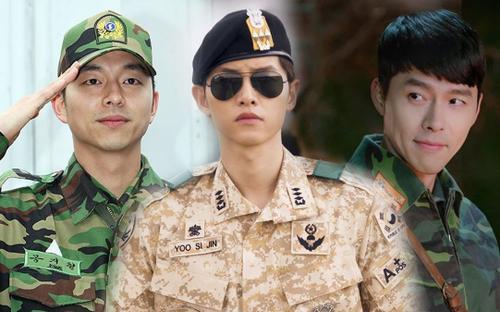Top 14 nam diễn viên Kbiz mặc quân phục đẹp nhất: Song Joong Ki và Hyun Bin chưa phải đỉnh nhất!