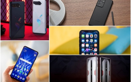 5 smartphone cấu hình mạnh, chơi game 'mượt mà'