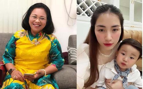 Hé lộ tin nhắn của bà nội quyền lực nói về con trai Hòa Minzy
