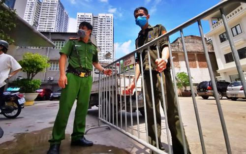 Hà Nội: Xuất hiện ổ dịch mới ở Thanh Xuân Trung, cách ly 700 hộ dân với 2000 nhân khẩu