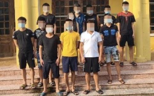 Phát hiện 12 thanh niên nam nữ thuê nhà nghỉ tụ tập sử dụng ma túy ở Hà Nội