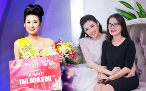 Mẹ ruột Á hậu Tú Anh tiết lộ quá khứ thi Hoa hậu đầy nước mắt của con gái
