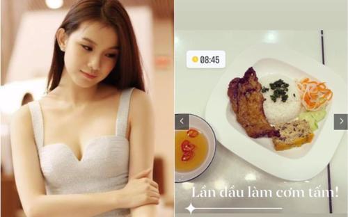 Hoa hậu Thùy Lâm, Đàm Thu Trang làm món 'quốc dân' ngon khó cưỡng