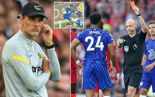 Chelsea bị phạt đền và thẻ đỏ, HLV Tuchel nói gì?