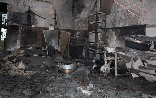 Cháy lớn ở trung tâm TP.HCM khiến một phụ nữ tử vong
