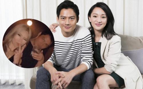 Chồng cũ Châu Tấn có cử chỉ thân mật với gái lạ, lộ 'hint' hẹn hò mới?