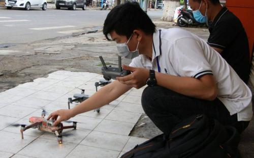 Đà Nẵng bắt đầu dùng flycam tuần tra giám sát các ngõ hẻm xử phạt người vi phạm
