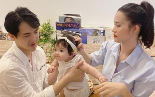 Con gái Đông Nhi - Ông Cao Thắng lớn nhanh đến mức nữ ca sĩ 'té ghế' vì ngỡ 'có 2 đứa con'