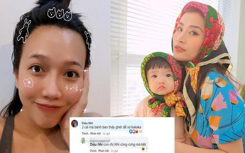 Diệu Nhi bình luận điều này trong Facebook Đông Nhi, netizen liền yêu cầu: 'Mau khoe em bé chị ơi'