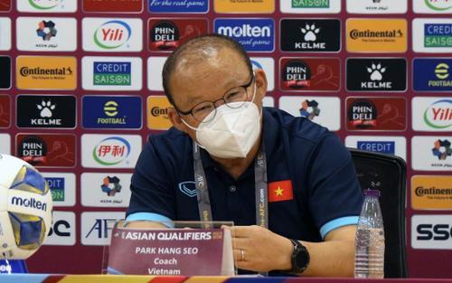 HLV Park Hang Seo trả lời cực 'chất' trước câu hỏi của phóng viên Saudi Arabia
