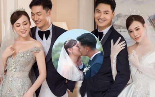 Đám cưới thế kỷ trong 'Hương vị tình thân' bị bóc mẽ chi tiết giả trân của Mạnh Trường và Phương Oanh