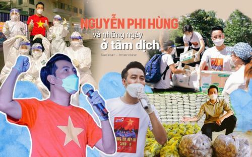 Nguyễn Phi Hùng kể về những ngày ở tâm dịch: Có lần tôi tưởng bị bệnh