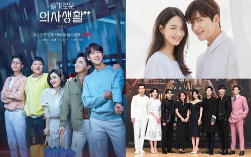 Top 10 phim Hàn ăn khách nhất tuần qua: 'Hospital Playlist 2' vượt mặt 'Penhouse 3', phim của tvN đội sổ