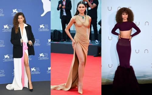 Bạn gái người Nhện gây bão với loạt váy hở 'kinh điển' tại LHP Venice 2021