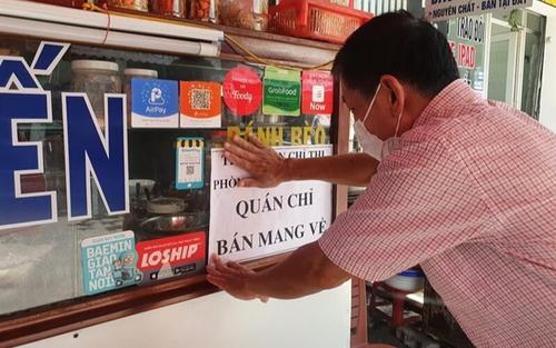 TP HCM cho phép hàng quán ăn được mở bán mang về