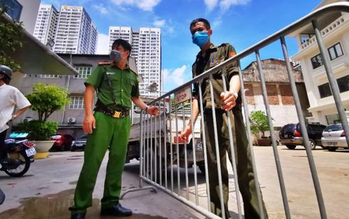 Hà Nội: Tạm phong tỏa chung cư tại quận Hai Bà Trưng có 7 ca F0 được phát hiện qua sàng lọc