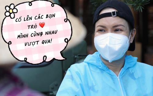Nghệ sĩ Việt Hương bức xúc vì bị 'câu view' gây hiểu lầm, thông báo ngưng phát quà từ thiện